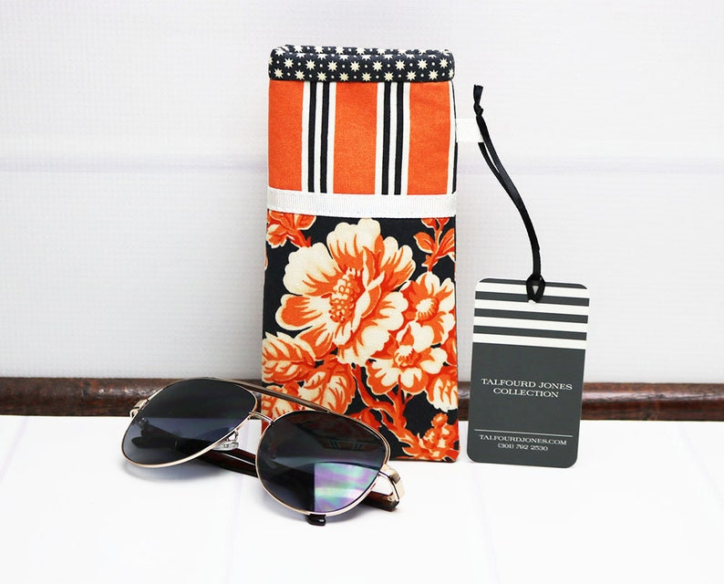 Reading Glasses Case  Soft Eyeglass Pouch  Glasses Pouch  image 0