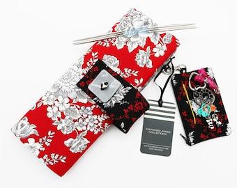 DPN Needle Holder, Double Point Needle, Hats Gloves Socks, Addi Flexiflips Knitting Needles, Circular Needle Case, Needle Storage Case