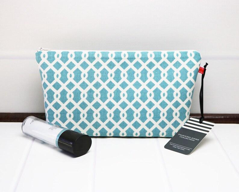 Ladies Toiletry Bag  Medium Cosmetic Bag  Medium Makeup Bag image 0