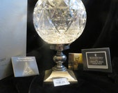 Waterford Crystal The Times Square Collection Millennium Hurricane Lamp