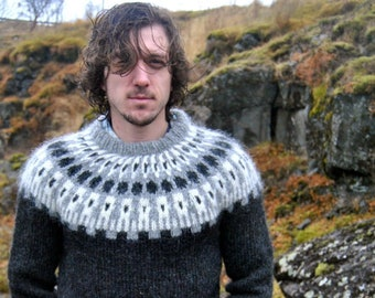Icelandic Sweater Etsy