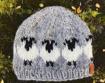 49e892a2897 Ull Icelandic Wool Hat - Handmade with 100% Pure Icelandic Wool