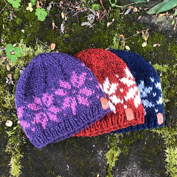 Magni CUSTOM Icelandic Wool Hat Handmade with 100% Pure Icelandic Wool