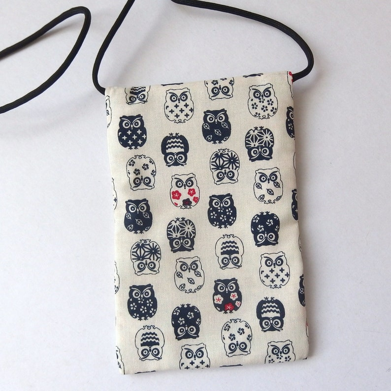great for walkers travel Small fabric Purse markets Pouch Zip Bag Grey CAT FACES on Black Fabric Cell Phone Pouch 6.5x4.25