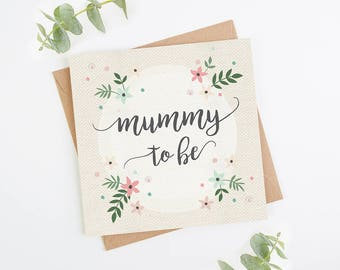 mummy to be pregnancy congratulations new mum baby shower card - Pregnancy Congratulations Card