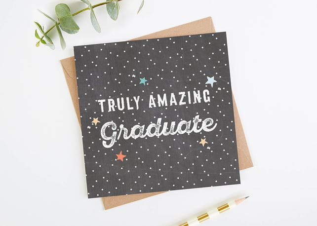 Amazing Graduate Card