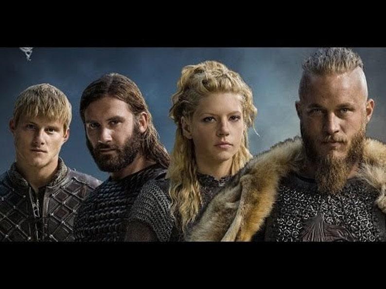 VIKINGS History Channel Thors Hammer Necklace Ragnar Lagertha Floki Bjorn TV Series Crow Ship Dragon Runes