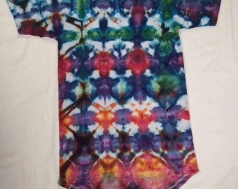 Funky Tie Dye Men's Tall T-Shirt size Small S483