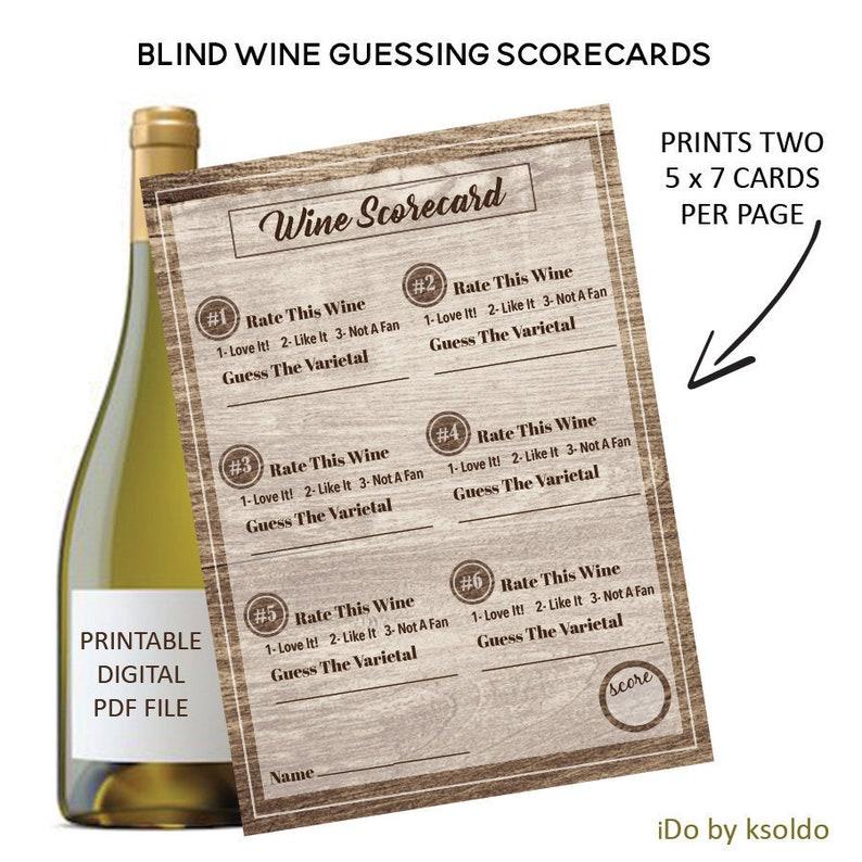 photo regarding Blind Wine Tasting Sheets Printable known as Blind Wine Tasting Rating Playing cards - Blind Wine Tasting Position - Wine Tasting Ranking Playing cards - Wine Birthday - Wine Tasting - Scorecards -Printable