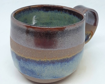 Temmocu Blue Glazed Mug