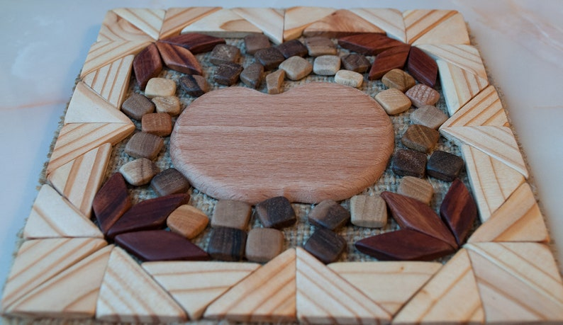 Stand for hot Heat protection pad Wooden trivet Wooden trivet Handmade wooden stand Trivet for hot Eco stand Wood mat.