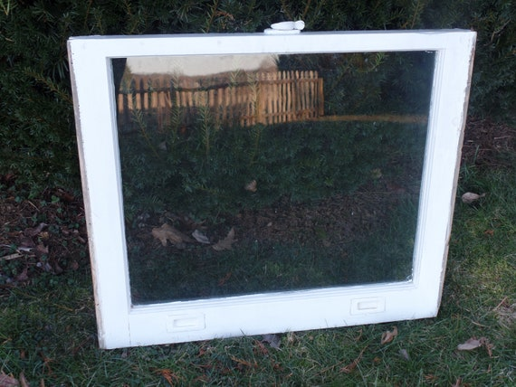 Vintage One Pane Window Antique Window Rustic Window Etsy