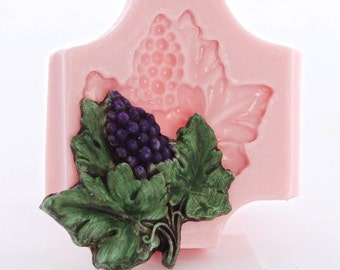 Chocolate etc. Custom Grapes Mold for Soap Candles