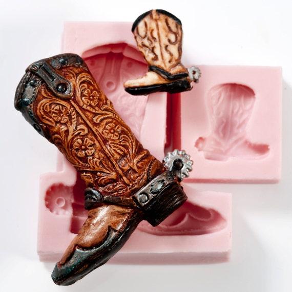 cowboy stiefel silikon schimmel set lebensmittel sicher. Black Bedroom Furniture Sets. Home Design Ideas