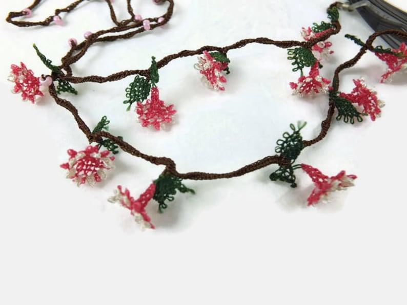 Floral lanyard pretty lanyards glasses chain fabric lanyards eyeglass necklace eye glasses lanyard Glasses chains teacher lanyard
