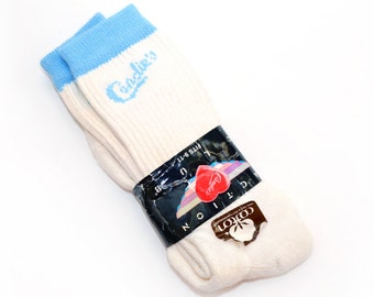 Deadstock 90's Candies Knit Crew Socks