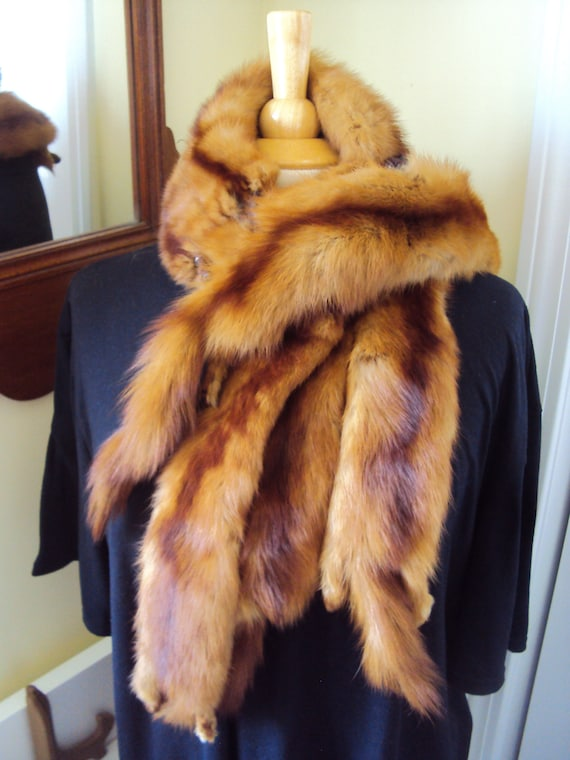 Beautiful real mink stole and matchiong at for 13-14 inchdolls like Wellie Little Darling and many more Handmade by Nims