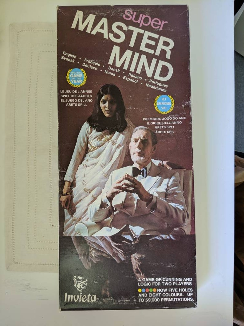 Calendario Supermaster.Super Master Mind Game Invicta Made In England C 1975