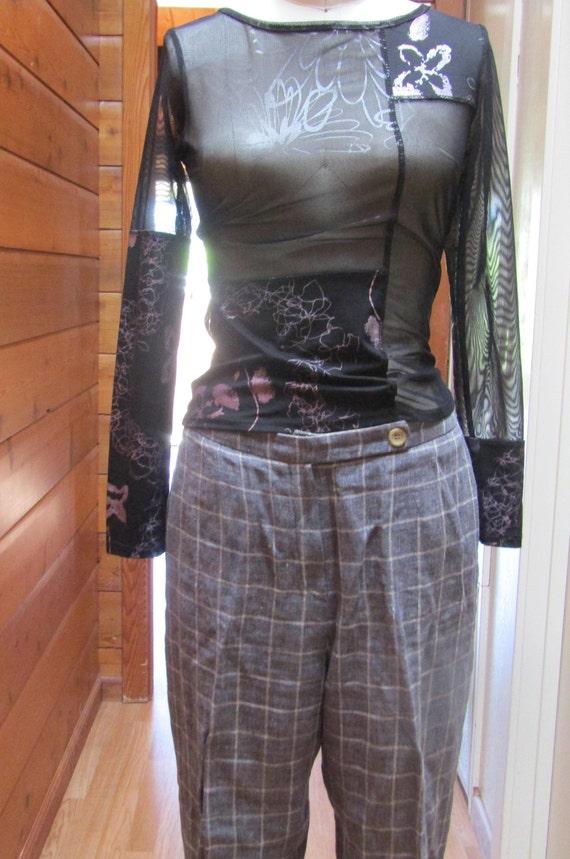 Vintage Designer Pants 1990's Sonia Rykiel Trouser