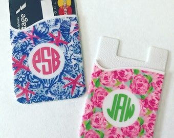 Lilly Inspired Phone Wallet