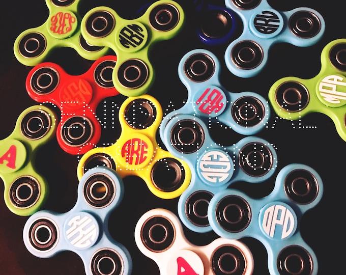 Monogrammed Fidget Spinner, Spinners, Monogrammed Spinners, Fidget Toy, Spinner Toy