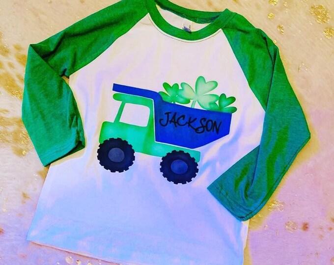 Shamrock Dump Truck Shirt