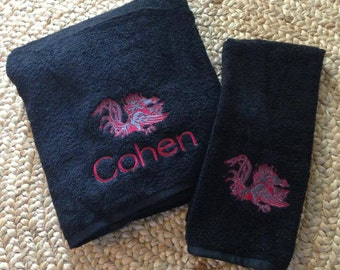 Gamecock Towel Set