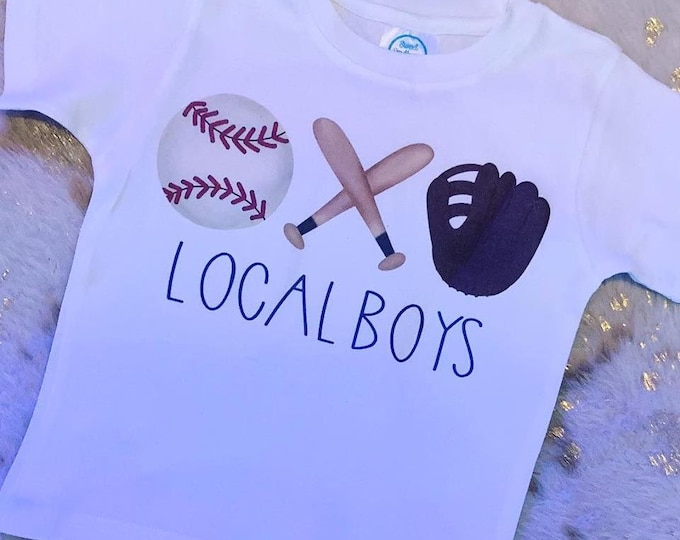 Baseball Trio T-Shirt