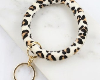 Animal Print Key Ring