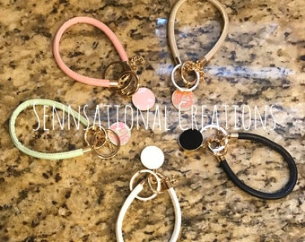 Soft Key Ring Bracelet