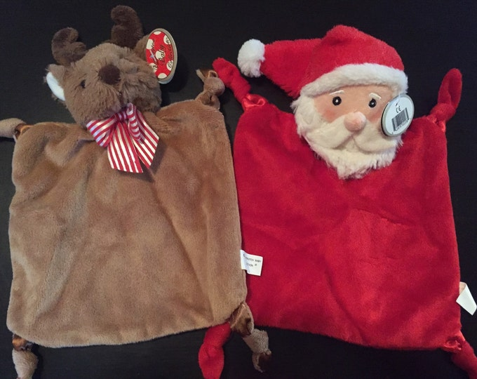 Christmas Lovies, Christmas Toy, Baby Christmas, Santa Lovie, Reindeer Toy