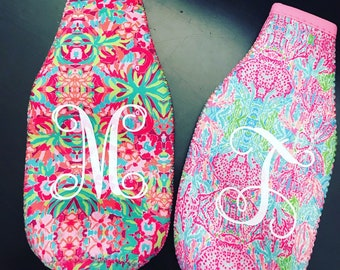 Lilly Inspired Can Cozies
