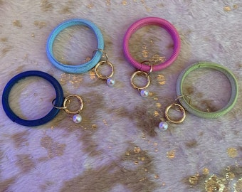 Lizard Skin Key Rings