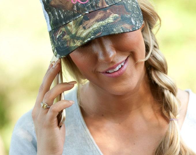 Camo Trucker Hat, Monogrammed Trucker Hat, Camouflage Hat, Trucker Hat, Monogrammed Cap, Monogrammed Hat