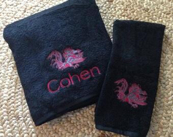 Gamecock Towel Set