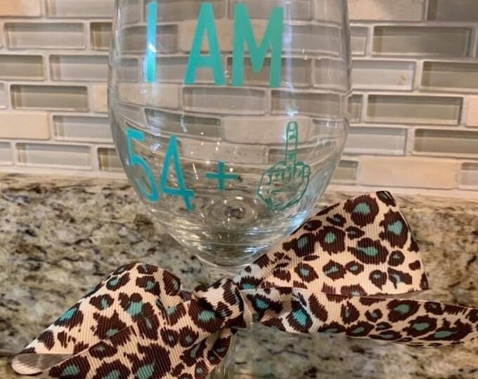Birthday Wine or Pint Glass