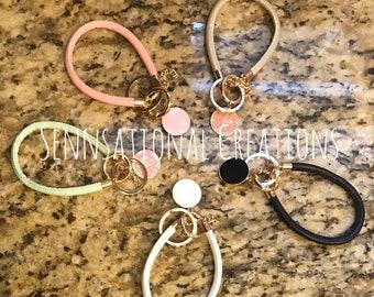 Soft Key Ring Bracelet