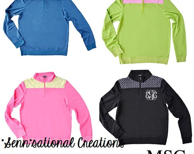 YOUTH Quarter Zip Pullover, Monogrammed Pullover, Preppy Shoulder Pullover, Mommy and Me Pullover, Lightweight Jacket, Fall Monogram Apparel