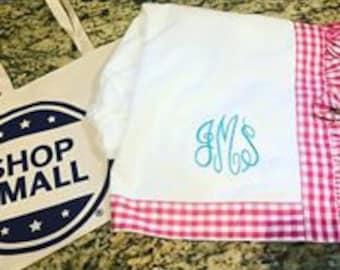Gingham Bath Wrap, Bath Wrap, Towel, Towel Wrap, Gift for Her, Bath Items, Seersucker Towel Wrap