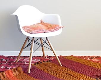 Antique Navajo Single Saddle Wool Blanket