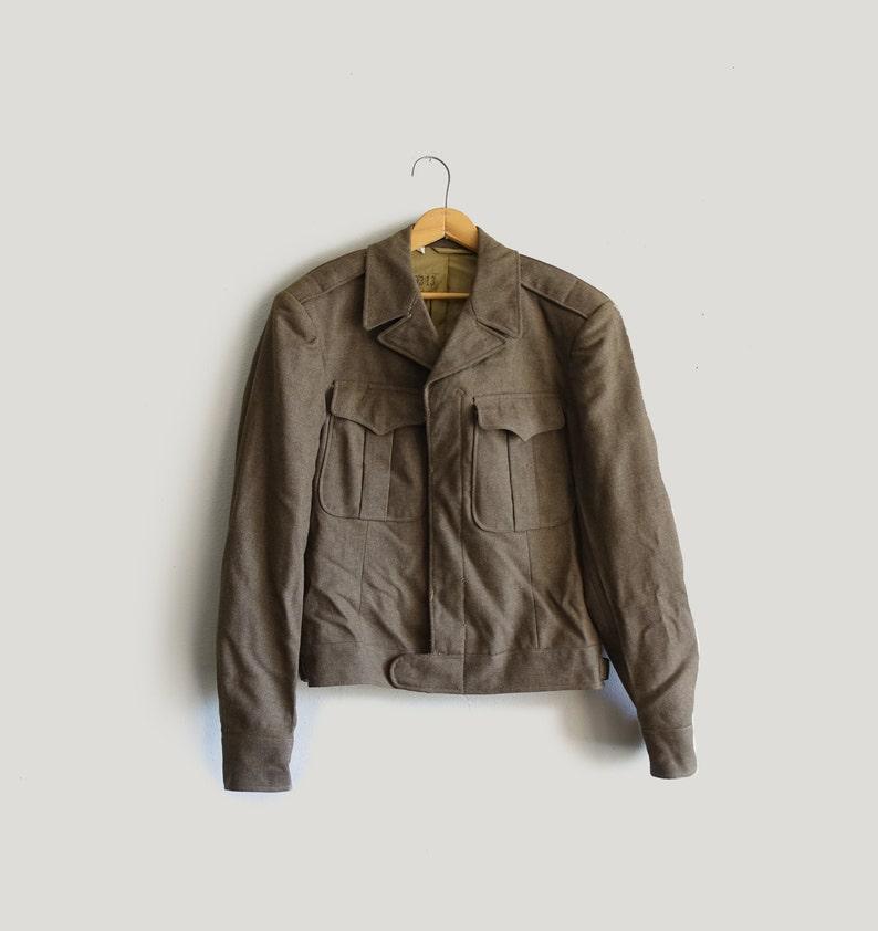 Women S Large Korean War Era Wool Us Marines Bomber Jacket