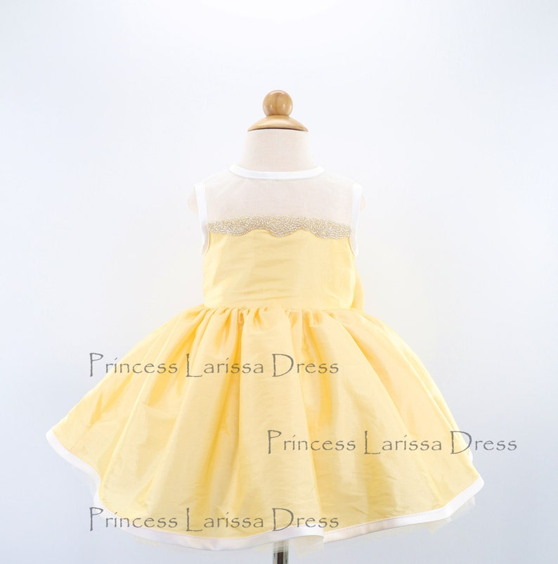 4972c8ea5813 Light Gold Infant Christmas Dress Thanksgiving Dress Toddler