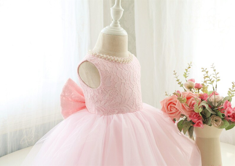 29366ddec354 Fancy Baby Pink Sleeveless Pageant Dress Infant Thanksgiving