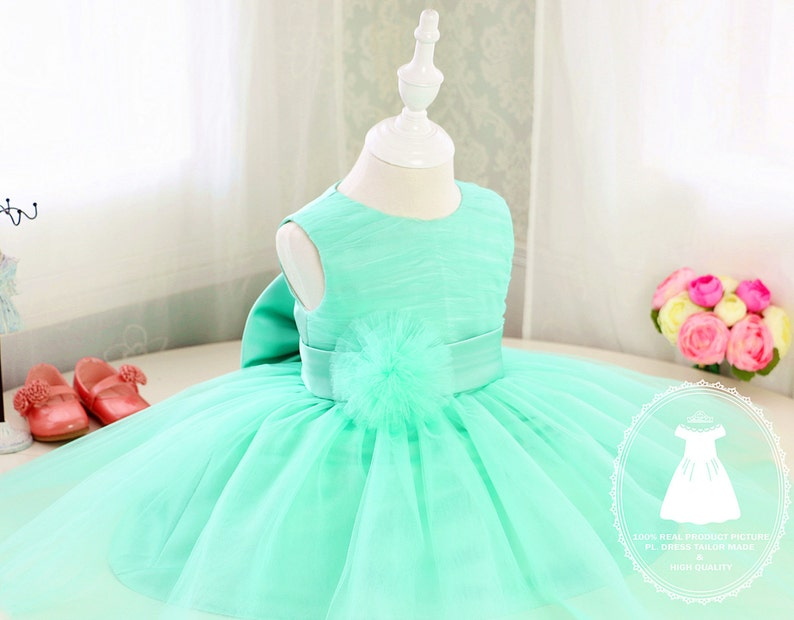 b2de1aae0034 Basic Style Flower Girl Dress Green and Purple TutuToddler