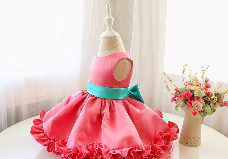 75c07ddb0 Newborn Thanksgiving Dress Baby Birthday Dress Toddler