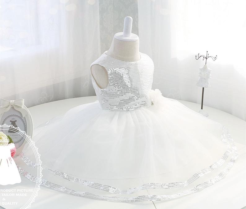 0abe97ba4020 Bling Bling Newborn Party Dress Flower Girl Dress Tulle Baby