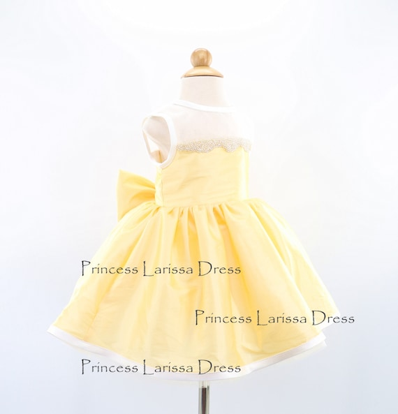 05c94c690731 Fancy Yellow Sashless Toddler Pageant Dress Flower Girl