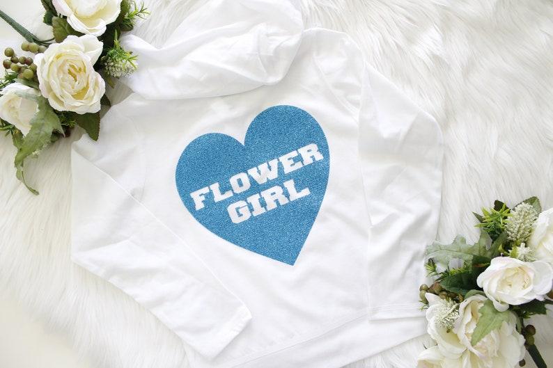 Flower Girl Wedding Toddler Hoodie Sweatshirt