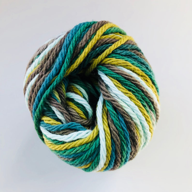 RICK RACK OMBRE 100/% Cotton Yarn Lily Sugar N Cream 1 skein