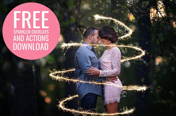 Free Mini Sparkler Photoshop Overlay Photoshop Action Collection For Photoshop And Pse Free Photoshop Actions Free Photoshop Overlays